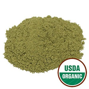 Passion Flower Leaf Powder Cert. Organic, 1 lb