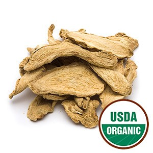 Ginger Root Whole Cert. Organic, 1 lb
