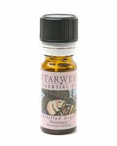 Rosemary Essential Oil Cert Organic 1/3 fl oz