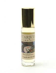 BreatheFree Aromatherapy Touch-On .3 fl oz