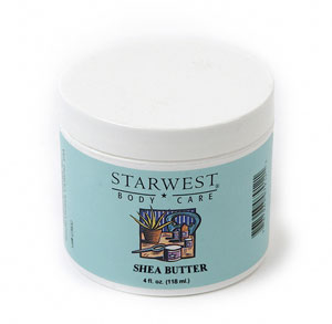 Shea Butter, Refined 4 oz