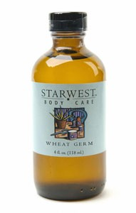 Wheat Germ Carrier & Cooking Oil Unrefined 4 fl oz
